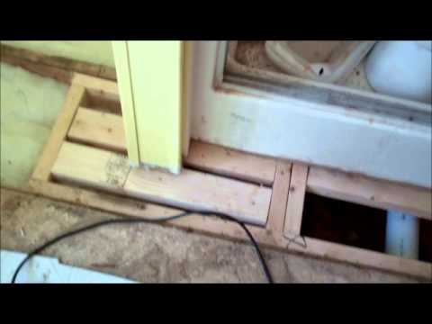 Mobile Home Floor Repair Supply Nc 28461 Youtube
