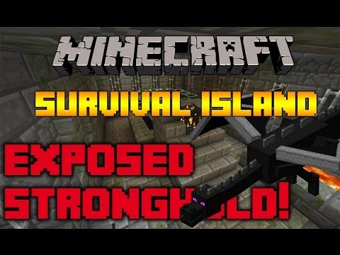 Minecraft Survival Island Seed With STRONGHOLD! (1.7.9 Best Minecraft Survival I