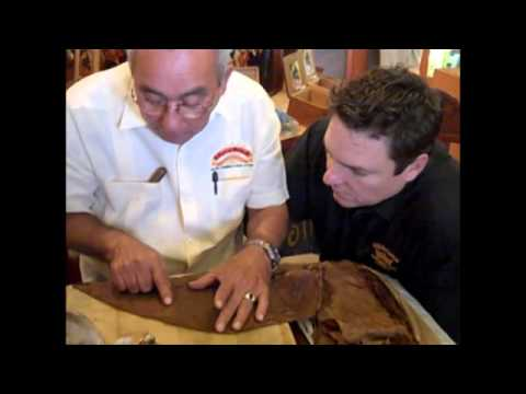 How to roll a cigar with Don Pepin Garcia Rolling Cigars at Corona Cigar Co.