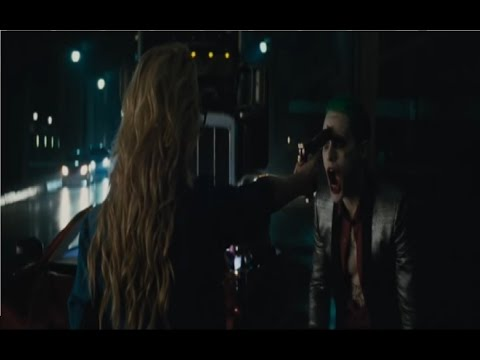 The Joker And Harley Quinn Fighting In Suicide Squad!