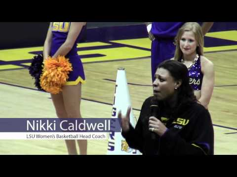 The Daily Reveille - LSU Women's Basketball gather for NCAA Tournament selection