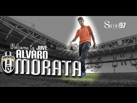 Alvaro Morata, welcome to Juventus!