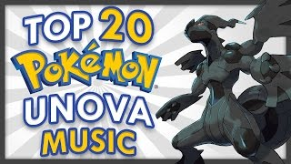 Top 20 Pokemon Unova Music