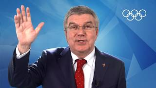 IOC President Thomas Bach - Message for #1YearToGo