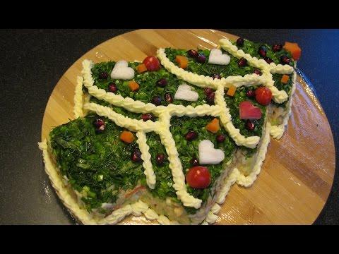 Вкусные салаты с фото на новый год