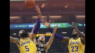 LA Lakers play defense for a change to move to .500 for first time