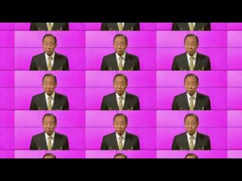 Ban Ki-moon joins the #HappySoundsLike campaign