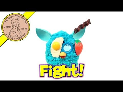 Furby Food Fight (FFF) Old School vs. New School (1998 Furby vs 2012 Furby )