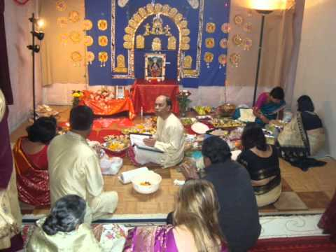 Sarkar Family, Usa Religion Lakshmi Puja Music Esho Ma Lakshmi October 2010 video