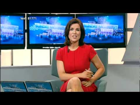 Susanna Reid - Shiny legs and Heels