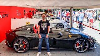 Ferrari Monza SP2 Driven Fast! £1.5m Limited Edition V12 Speedster