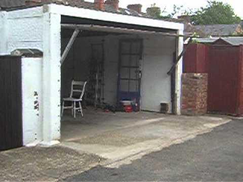 My Homemade Garage Door Youtube