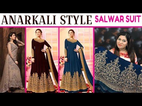Designer Anarkali Style Salwar Kameez ll Online Shop ll 24 Oct 2018