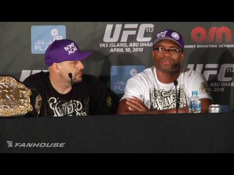 UFC 112: Anderson Silva Defends Performance, Says Maia Dissrespected Him Video