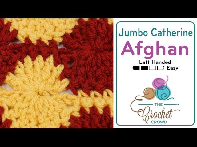 Left Hand: Jumbo Catherine Wheel Stitch