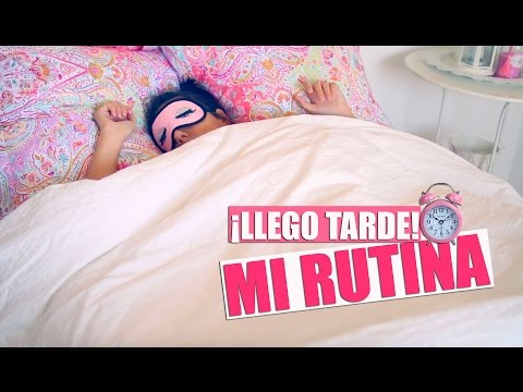 ¡Llego Tarde! Mi Rutina de Mañana | A Little Too Often