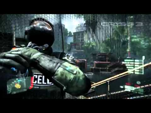 Crysis 3 Mayhem Gameplay Montage E3 2012