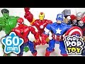 May 2017 TOP 10 Videos 60min Go! Avengers, PJmasks And Transformers   DuDuPopTOY