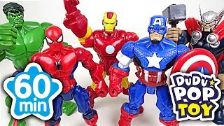 May 2017 TOP 10 Videos 60min Go! Avengers, PJmasks and Transformers - DuDuPopTOY