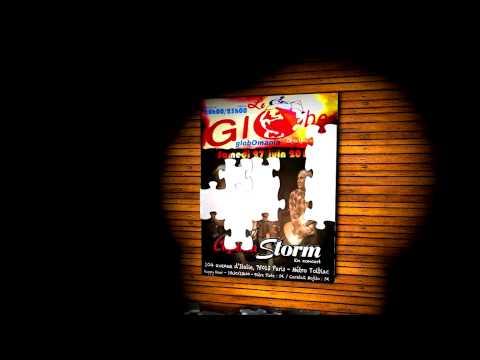 Affiche animation concert Captain Storm au Globe