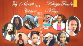 Top 10 Most Beautiful Kalenjin Ladies in Kenya