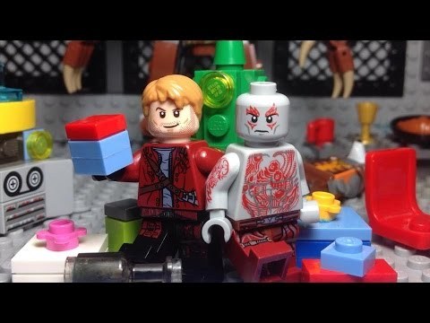 A Lego Christmas with Drax