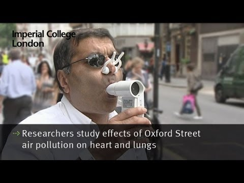 Researchers study effects of Oxford Street air pollution on heart and lungs