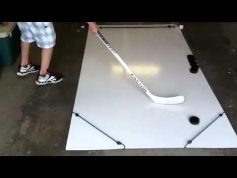 Homemade Hockey Skill Pad