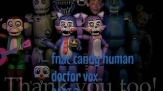 FNAC CANDY HUMAN DOCTOR VOX (PART 2)