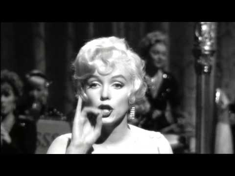 Marilyn Monroe - I Wanna Be Loved by You (В Джазе только девушки)