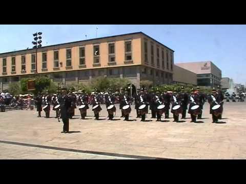 BANDA DE GUERRA PVC BICAMPEONA NACIONAL 3 DE DIANA.ORG 2011 GUADALAJARA JALISCO