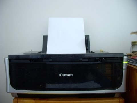 Canon Pixma IP 4500  how to change waste inkt tank part 2A of Canon repair series