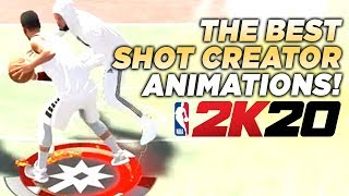 BEST SHOT CREATOR ANIMATIONS in 2K20 • HOW TO BE LIKE TYCENO in NBA 2K20!