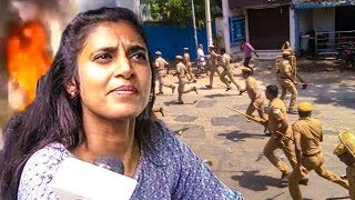 Kasthuri From Thoothukudi : No Access to Internet or Any Service  | Police Firing, Ban Sterlite
