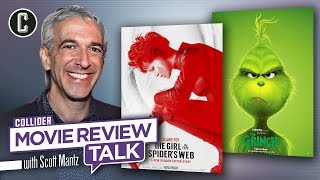 The Girl in the Spider's Web, The Grinch - Movie Review Talk with Scott Mantz