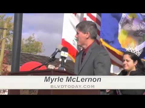 Myrle McLernon Lancaster Blvd Association on the Blvd Grand Opening