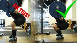 The BEST SQUAT Tip You AREN'T Doing (Fix Hips Shooting Back)