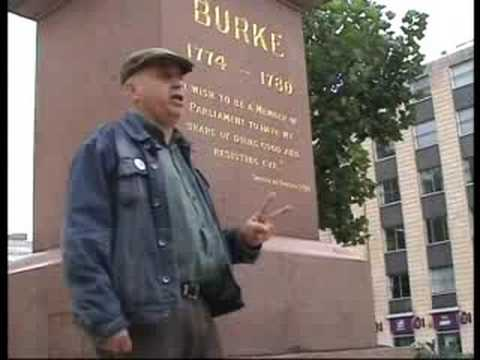 Bristol 9/11 Truth - 7th anniversary Edmund Burke rant