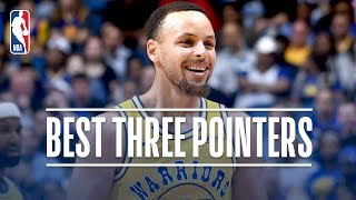 Stephen Curry's Best Three Pointers! 2018-19 NBA Season + Playoffs