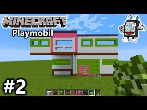 MINECRAFT Playmobil Luxusvilla Vs Moderne Villa Im Berg Welches - Minecraft haus bauen im berg