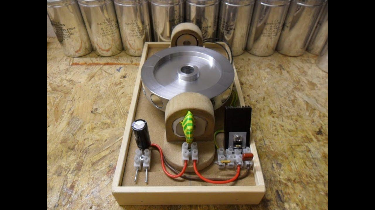 Pulse Motor Basic Setup - Almost Zero B-emf Update 1 Hyperdrive Speed  N-channel Mosfet