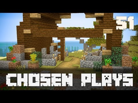 Chosen Plays Minecraft 1.13 Ep. 51 Building A Stable
