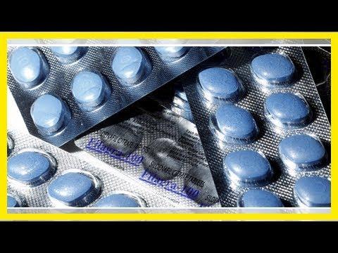 Zu viel Viagra ist schlecht für die Augen