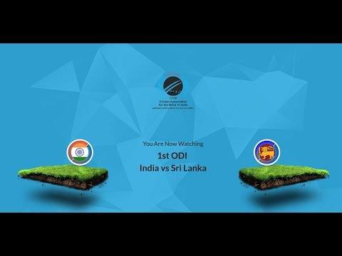 Live   India vs Srilanka   1st ODI