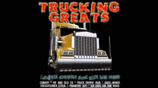Trucking Greats - Truck driving man