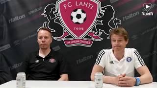 FCLahtiTV: FC Lahti - HJK: lehdistötilaisuus