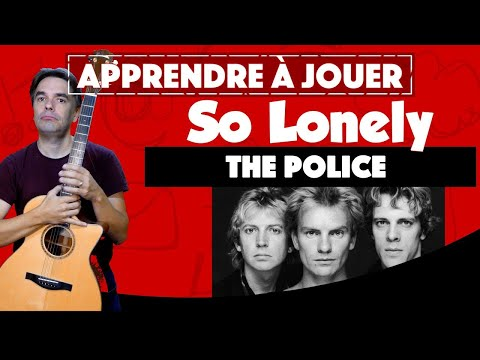 Apprendre à jouer The Police - So Lonely à la guitare