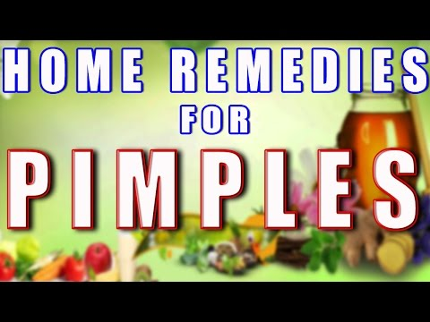 Home Remedy For Pimples (With English subtitles & captions in 161 Languages)