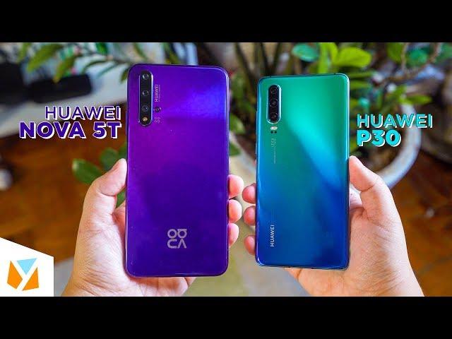 Huawei Nova 5T vs Huawei P30 Comparison Review