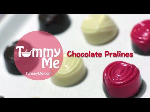 Tutorial cara buat coklat praline valentine mudah dan praktis by TummyMe.com